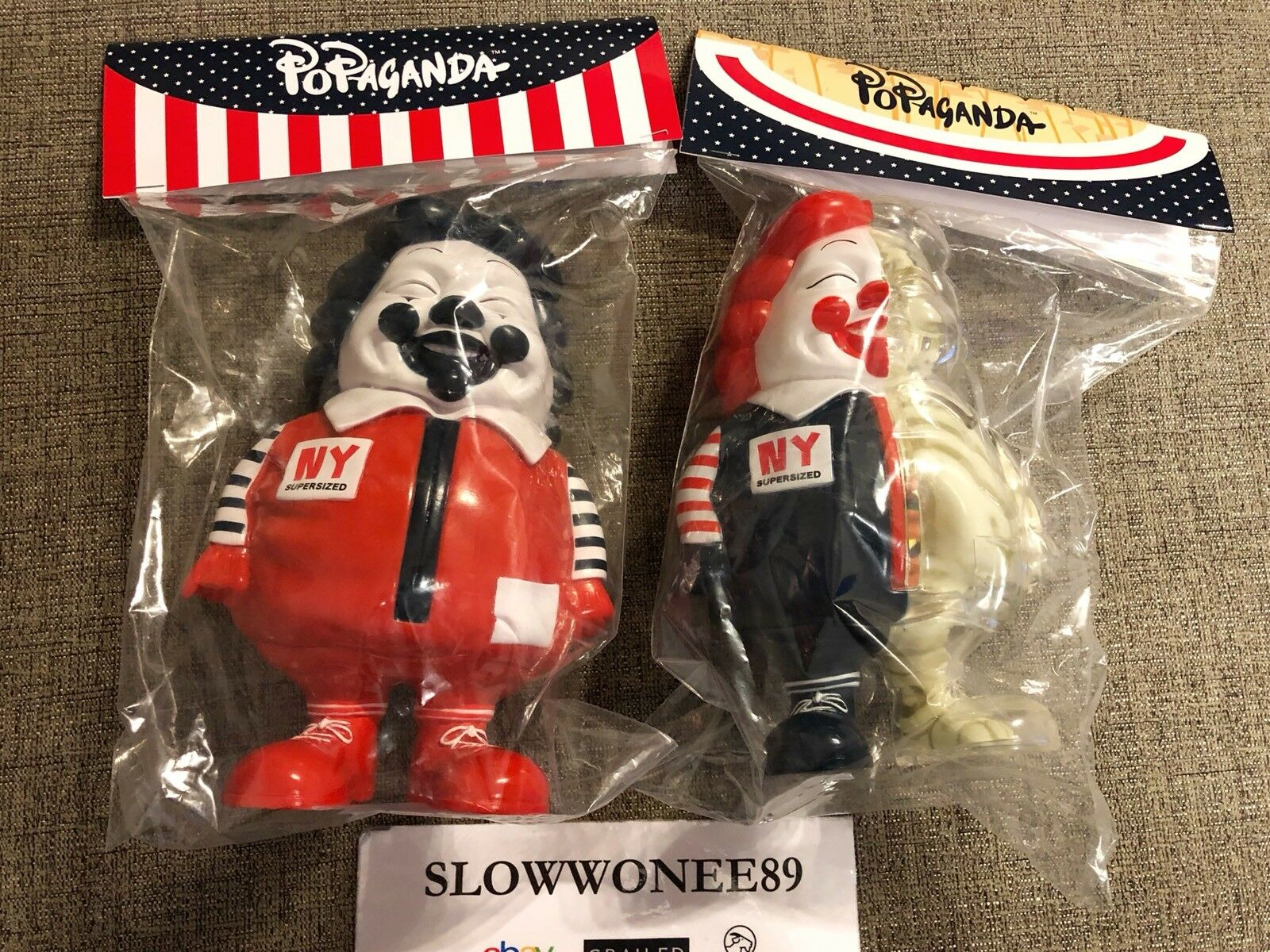 NEW RON RON RON ENGLISH SIGNED MC SUPERDimensioneD NYCC EXCLUSIVE 441496
