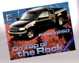 1999 Ford Série Vs.chevrolet Silverado Camion Brochure: 150/250 Pickup,f150,f250 22pixrta-07232704-426854281