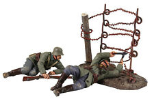 "BRITAINS SOLDIERS WW1""GOING THROUGH THE WIRE-23100 METAL MILITARY LIMITED EDITI"