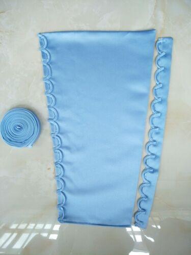 Wedding Dresses Prom Gowns Zipper Replacement Corset Back Panel 3PCS Satin Knit