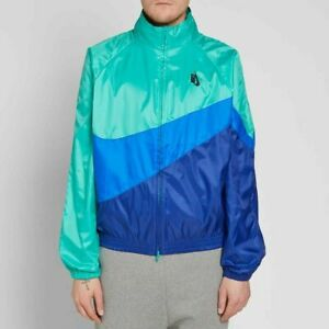 Men-039-s-Nike-NikeLab-NRG-Heritage-Jacket-Blue-Green-Size-XL-AA1569-348-NEW