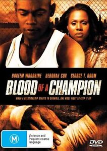 Blood-Of-A-Champion-DVD-2010-Like-New-Bokeem-Woodbine