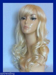 Perruque-blonde-ondulee-wavy-longue-synthetique-top-qualite-taille-unique