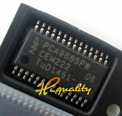 5pcs PCA9685PW NXP IC LED DRVR LIN DIM 25MA 28TSSOP NEW