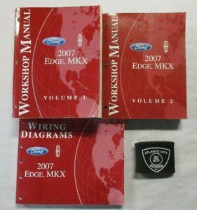 2007 FORD EDGE LINCOLN MKX SERVICE SHOP REPAIR MANUAL ...