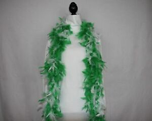 MARDI GRAS w//GOLD TINSEL FEATHER BOA Best Price on  6 FEET 60 GRAMS; Parades
