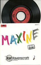 "Raf Ravenscroft - Maxine (1986)  GERMANY 7"""