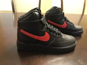 New-Nike-Air-Force-1-By-You-Leather-High-Top-Sneaker-Shoes-Size-US-7-5