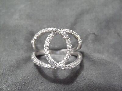 Cubic Zirconia CZ Fashion Ring ELANZA 925 Silver Yellow Cubic Zirconia