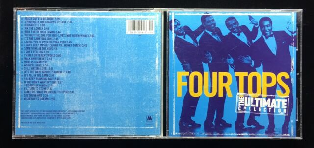 Four Tops Ultimate Collection: THE FOUR TOPS / THE ULTIMATE COLLECTION AUDIO DISC / MUSIC