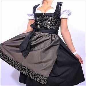 064. German Austrian Dress Oktoberfest Dirndl -sizes: 4.6.8.10.12.14.16.18.20.22 Lissage De La Circulation Et Des Douleurs D'ArrêT