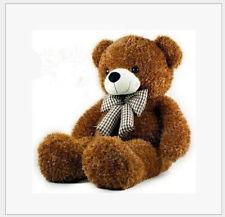 Hot! GIANT BIG CUTE dark brown  PLUSH TEDDY BEAR Gift for girlfriend+fast ship