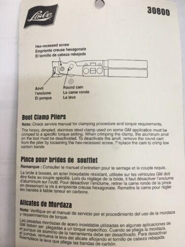 CV Boot Clamp Plier