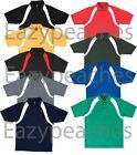 REEBOK GOLF Mens S-3XL 4XL 5XL RUGBY Colorblock Wick dri-fit Polo Sport Shirts