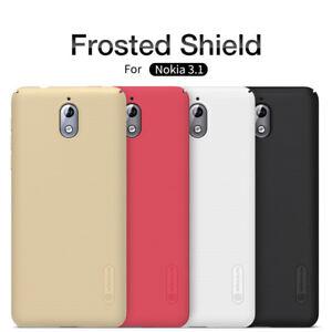 Nokia-3-1-Nillkin-Super-Frosted-Shield-resistant-a-l-039-usure-Capot-de-coque-arriere-dur