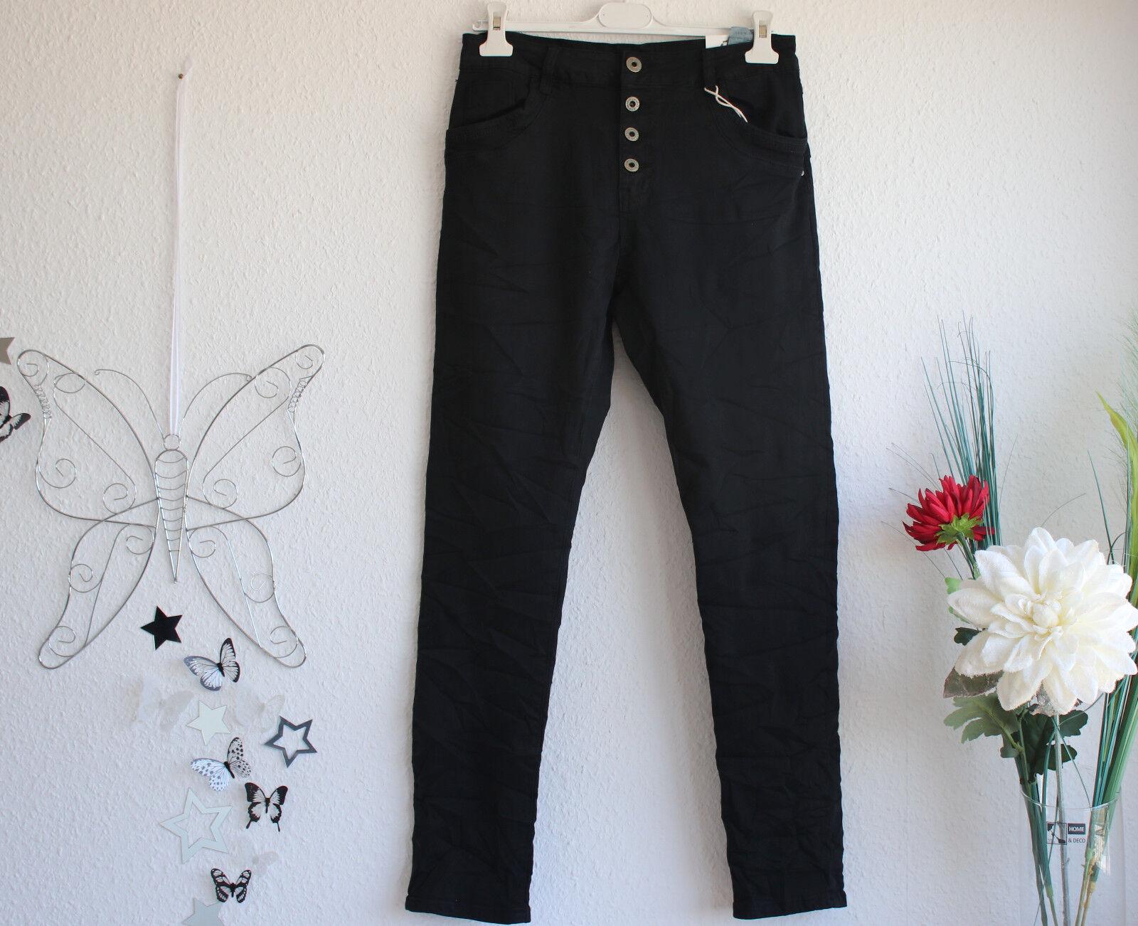 Donna Stretch Skinny Jeans Pantaloni a quadri STAR NERO MIS. 38+42+44+46+48