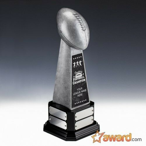 Fantasy Football Trophy Perpetual -8 -8 -8 Years- 17.75