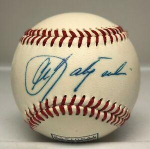 Carl Yastrzemski Signed Hof Logo Baseball Autographed