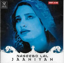 NASEEBO LAL - JAANIYAN - BRAND NEW PAKISTANI CD SONGS - FREE UK POST