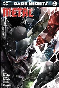 Dark-Nights-Metal-6-Francesco-Mattina-Variant-Batman-Who-Laughs-NM-or-better-DC