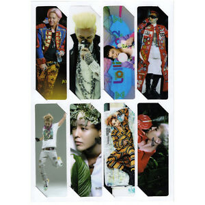 8pics-set-G-Dragon-GD-BIGBANG-BB-Bookmark-KPOP-NEW-P3874