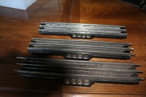 3-LIONEL-RCS-REMOTE-CONTROL-TRACK-SECTIONS-VG-O-SCALE-used