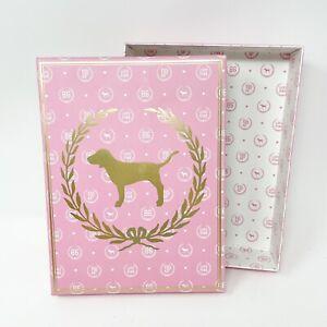 Vtg Victorias Secret PINK Dog Heart 86 Crest Collectible Display Storage Box