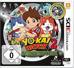 Yo-Kai-Watch-2-knochige-fantome-inclus-Medaille-3DS-NEUF-EMBALLAGE-ORIGINAL