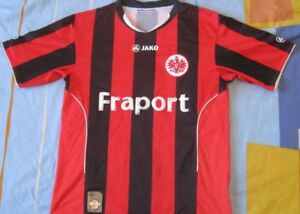 Trikot-Shirt-Camiseta-EINTRACHT-FRANKFURT-Jako-Fraport-Season-2010-M-nummer-5