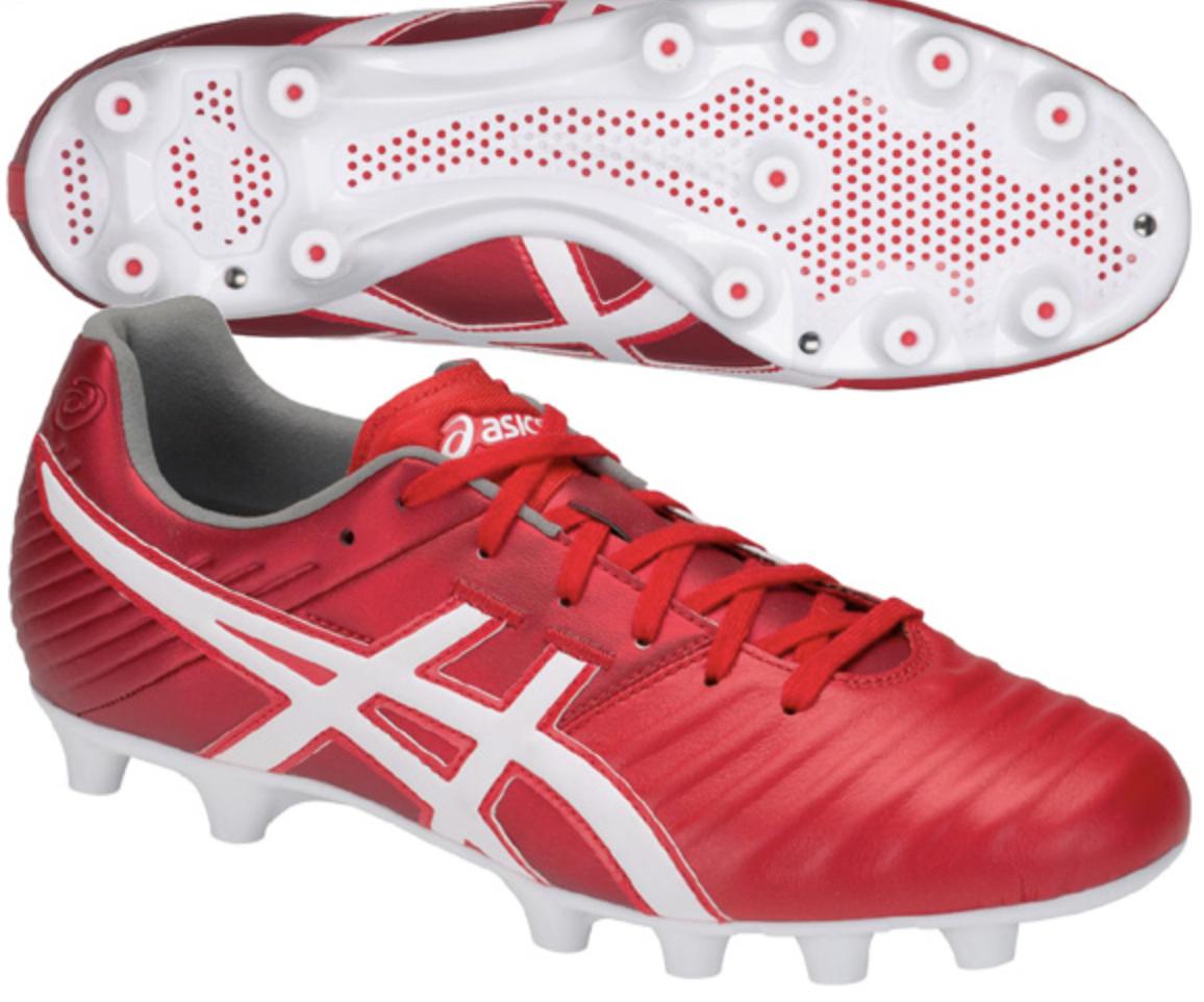 ASICS JAPAN DS LIGHT 3 Soccer Football chaussures Kangaroo Leather TSI750 C rouge blanc