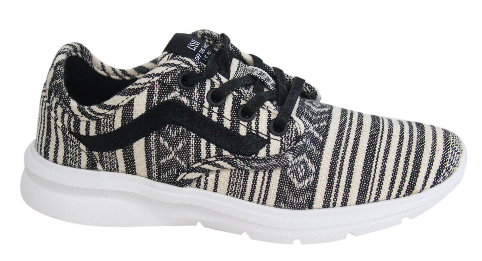 27233be87 Vans Iso 2 Off The Wall Lace Up Cancun Multi Textile Mens Trainers ...