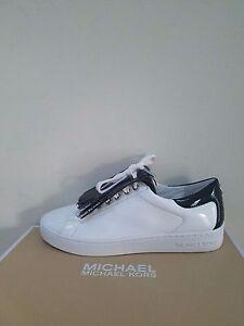 0a7c2a36364d MICHAEL Michael Kors Women s Keaton Kiltie Fringe Lace Up Sneakers ...