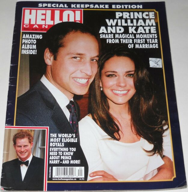 Hello Canada Magazine No 260 May 7 2012 Prince William and Kate Elizabeth Hurley