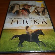 Flicka (DVD, Widescreen/Full Frame 2009,) Alison Lohman,Tim McGraw NEW