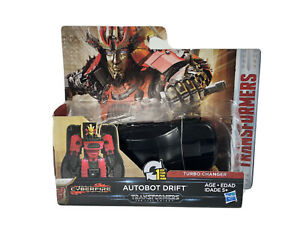 Hasbro Transformers CyberFire Autobot Drift Turbo Changer The Last Knight New