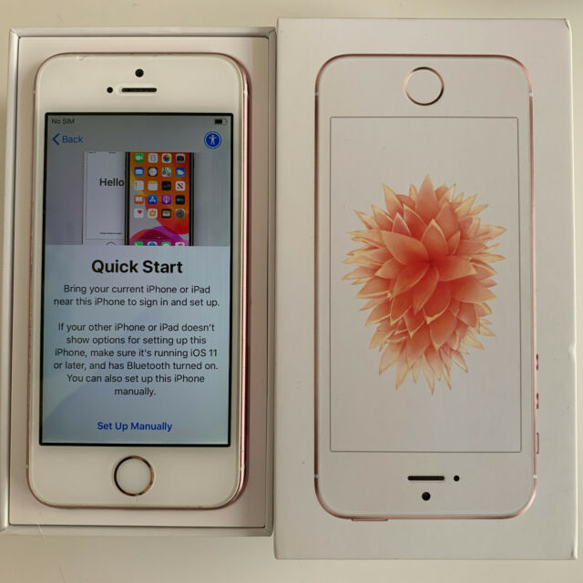 Apple iPhone SE 64GB Smartphone - Rose Gold (Unlocked) for ...