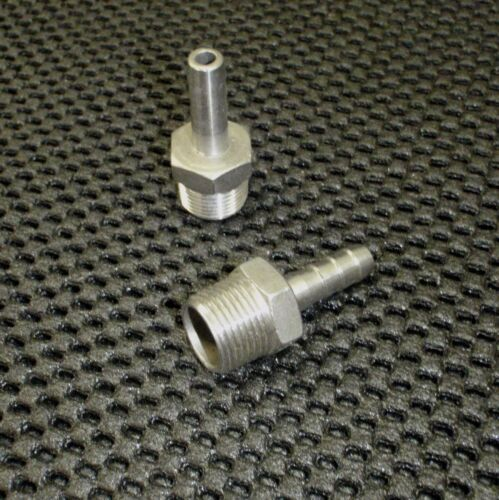 """5//16/"""" HOSE HB037031 STAINLESS STEEL HOSE BARB 3//8/"""" NPT PIPE"""