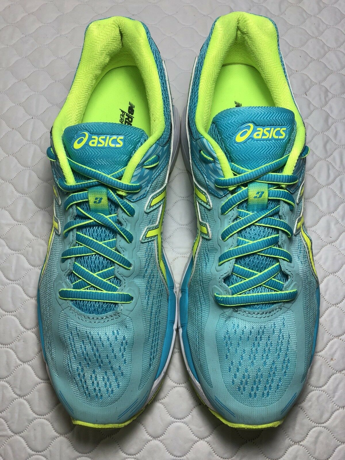Asics Gel Pursue Women's Running Shoes Aqua/Yellow Comfortable best-selling model of the brand
