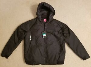 a304bfd7fa43 New Nike Sportswear Down Fill Hooded Bomber Jacket Black 866022-010 ...