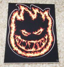 "SPITFIRE FIRE Logo Skate Sticker 2.25 X 3"" skateboards helmets decal"