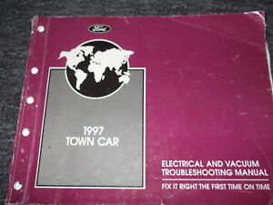1997 LINCOLN TOWN CAR Wiring Electrical Diagrams Shop ...