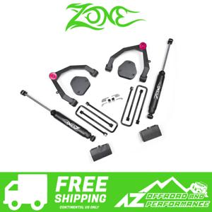zone offroad 3 5 uca lift kit 07 13 chevy gmc silverado sierra 1500 2wd c30n ebay