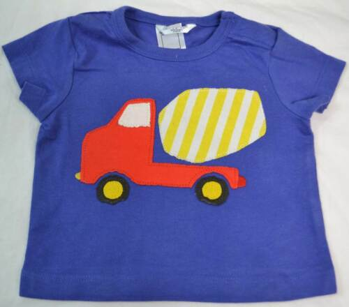 Mini Boden boy/'s baby cotton applique top t-shirt  new shirt tee applique logo
