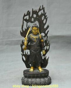 10-8-034-bouddhisme-antique-du-Japon-Bronze-dore-Statue-de-Bouddha