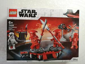LEGO-75225-Star-Wars-034-Pack-de-combat-de-la-Garde-Pretorienne-034-Boite-neuve-Scelle