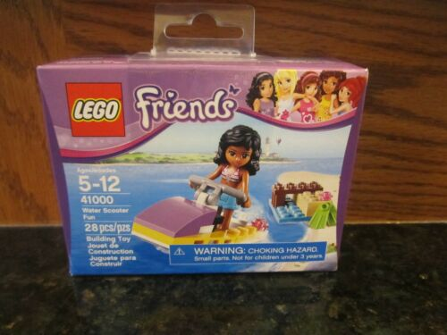 Girl LEGO Friends NEW 28 piece 41000 Water Scooter jet ski boat fun beach toy
