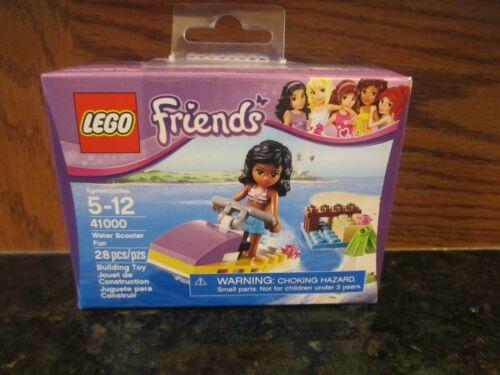 Girl LEGO Friends NEW 28 piece 41000 Water Scooter jet ski boat fun beach toy
