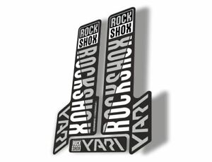 Rock Shox JUDY 2018 Fork Decal Mountain Bike Cycling Sticker Adhesive White