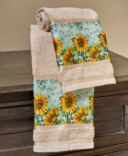 Sunflower Vibrant  Bathroom Collection Home Decor Free Shipping.