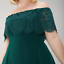 New-Ex-Coast-Oriel-Lace-Bardot-Dress-Forest-Green-Chic-Was-119-Now-29-Save-90 thumbnail 10